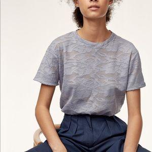 Wilfred Tarascan Aleutian lace design T-shirt